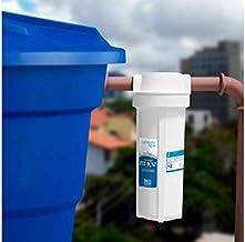 "Filtro Fit Caixa D'Água 9. 3/4"" Rosca de 3/4"" Planeta Água Branco Pequeno"