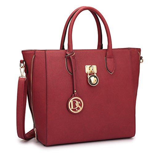DASEIN Women Handbags Purses Large Tote Shoulder Bag Top Handle Satchel Bag for Work