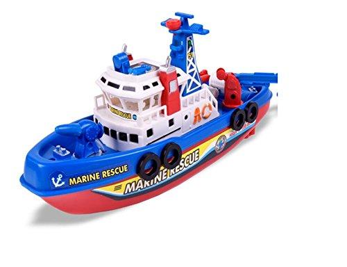 Fengge modelo de barco de bomba eléctrico flotante sobre el