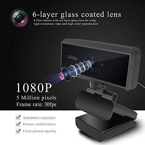 KAR Fotocamera USB del Computer, HD 1080p Microfono della Webcam insegnamento dal Vivo Camera periferica Web per PC Laptop
