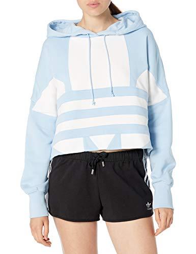 adidas Originals - Sudadera con capucha para mujer - azul - M