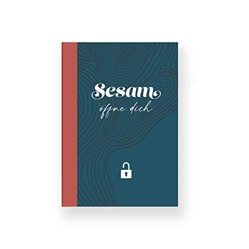 heaven+paper Passwort Buch mit Register als Organizer und Manager der Passwörter I hochwertiges Softcover Notizbuch für Logins & Zugangsdaten