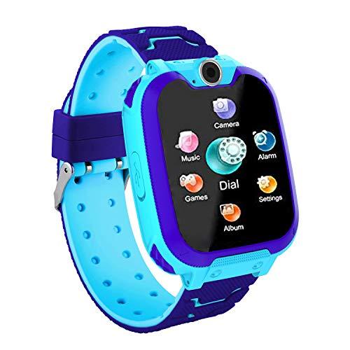 Vannico Reloj Inteligente niño, Smartwatch Llamada Bidirecc
