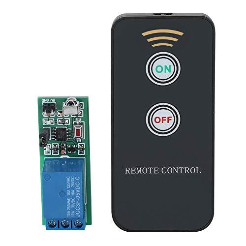 Tarjeta de relé de 1 Canal 5 V para relé Raspberry Pi Arduino con Mando a Distancia de Rayos Infrarrojos IR inalámbrico