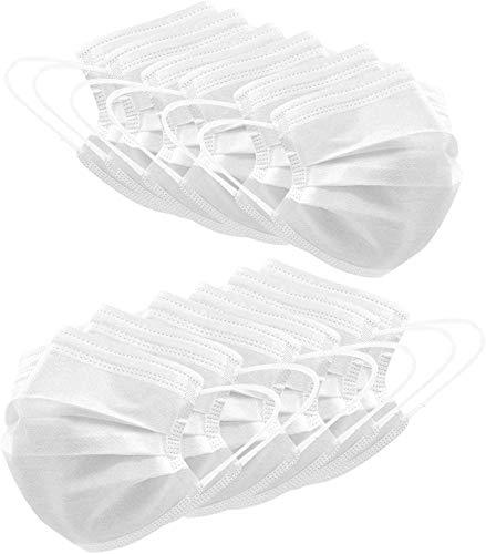 Calculatrice | 50 Stück, hautfreundlich, zuverlässige Abdeckung, neutral, schützend, weit verbreitet, empfohlen für Männer und Frauen,Weiß
