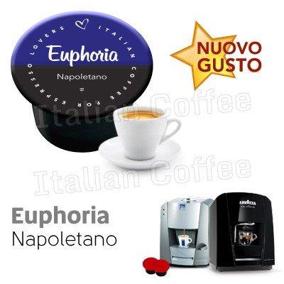 Italian Coffee - Euphoria Napoletano - Lote de 150 cápsulas de ...