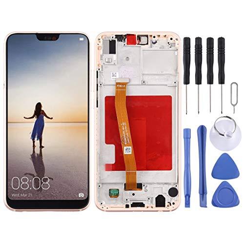 ZHUHAI vervangend LCD-scherm en Digitizer volledige montage met frame voor Huawei P20 Lite/Nova 3e (zwart) scherm vervangende kit + volledige reparatie gereedschap, roze