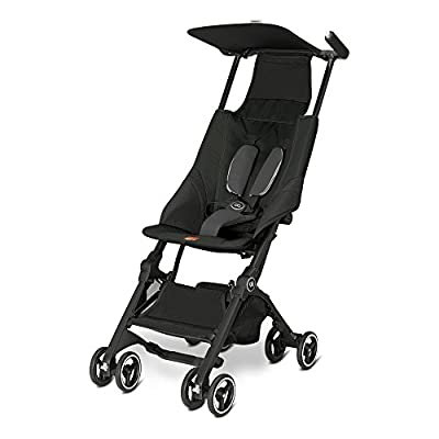 Gb Gold Pockit Buggy, monument black