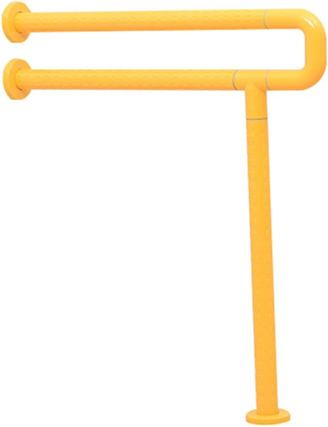 KHSKX Barrier-free handrails, toilet-bathroom handrails, the old handrail for the disabled , Yellow