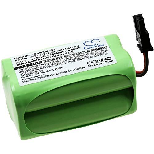 Batterij voor alarmsysteem Visonic Powermax Express, 4,8V, NiMH