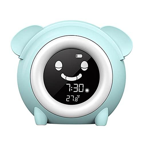 Yousiju Despertar Despertador Despertador Dormir Trainer Reloj Máquina de Sonido Temporizador con retroiluminación