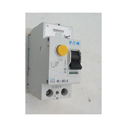 Disjoncteur 6A 1P+N courbe C 4.5kA bornes vis MOELLER PLG4 CP30 EATON MGE 264743