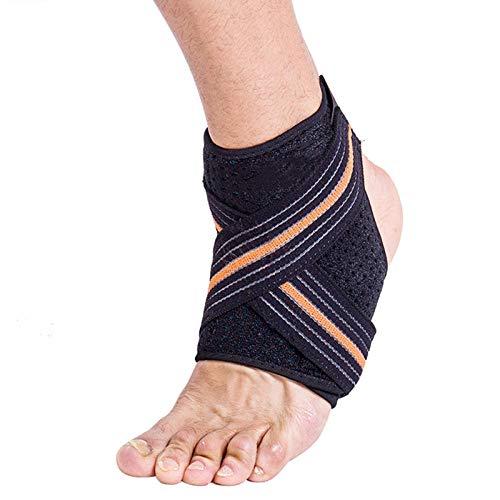 Enkelband 1 Stks Drukbaar Bandage Voetbal Enkelbeschermer Bescherming Anti Sprain Verstelbare Enkelsteun Brace Pad