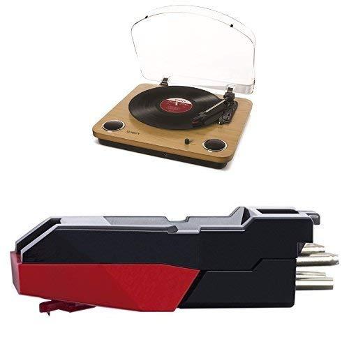 ION Audio Air LP Wood y CZ-800-10 - Tocadiscos de vinilo