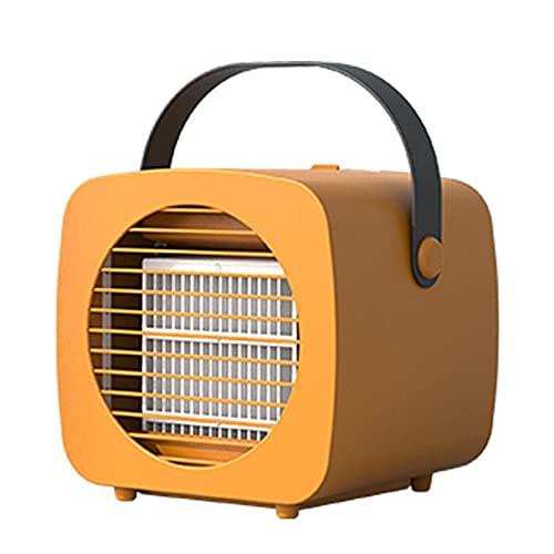 OUMSHBI Condizionatore portatile Mini Air Cooler 3 in 1, umidificatore e purificatore d'aria, USB, mini refrigeratore ad aria portatile, per camera e ufficio
