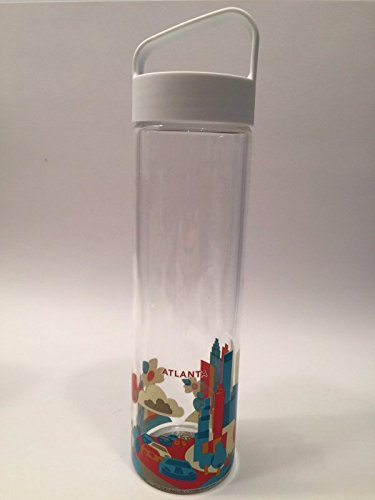 Starbucks You are Here Collection Wasserflasche aus Glas, 50 ml