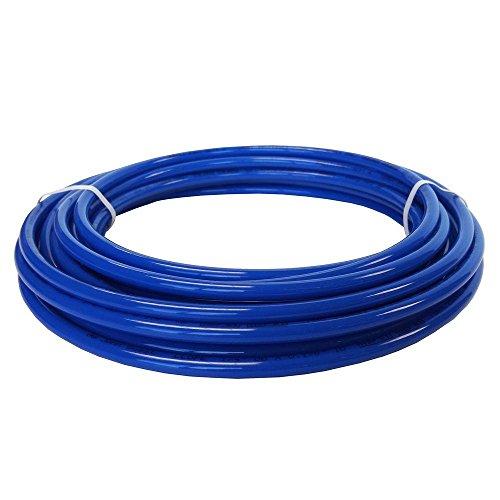 John Guest LLDPE Plumbing Tubing, 3/8-Inch Diameter, 25-Foot Spool, Blue