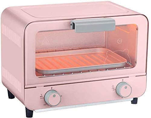 KAUTO 9L Mini-Ofen, einstellbare Temperatur 60-230 ° C und 30 Minuten Timer Multifunktionaler Backofen Backofen Konvektion Arbeitsplatte Toasterofen