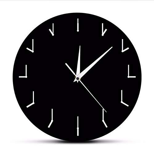 Waofe Une Horloge Murale Simple Et Totalement Redondante Horloge Murale Décorative pour Le Salon Horloge Redondante De Redondance Abstrct Art