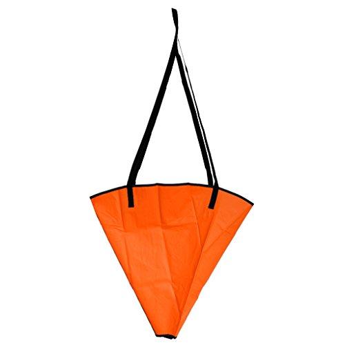 Blesiya Ancora Galleggiante Drift Ancoraggio Canoa Kayak Guida Ancoraggio - Arancione, Fino A 12-14ft