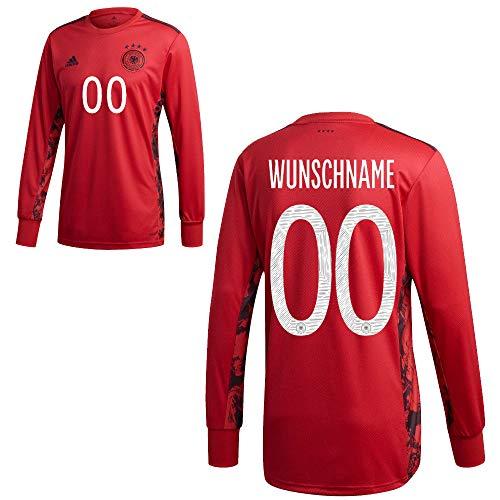 adidas DFB Deutschland Home Torwart Trikot Heimtrikot EM 2020 Kinder Wunschname 00 Gr 164