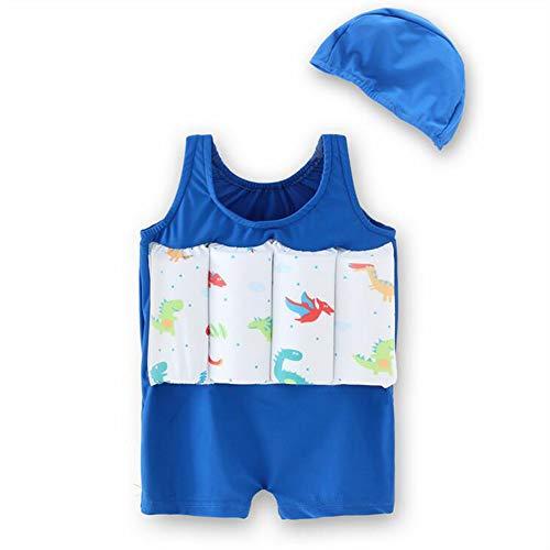 BenCreative Kinder Schwimmanzug, Baby Kinder Jungen Mädchen Auftrieb Badeanzug Schwimmweste Sonnenschutz Badeanzug Einteiler