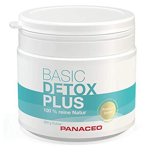 Panaceo Basic Detox pure: Veganes Bio-Medizinprodukt aus 100% Zeolith, zur Entgiftung des Darms,...