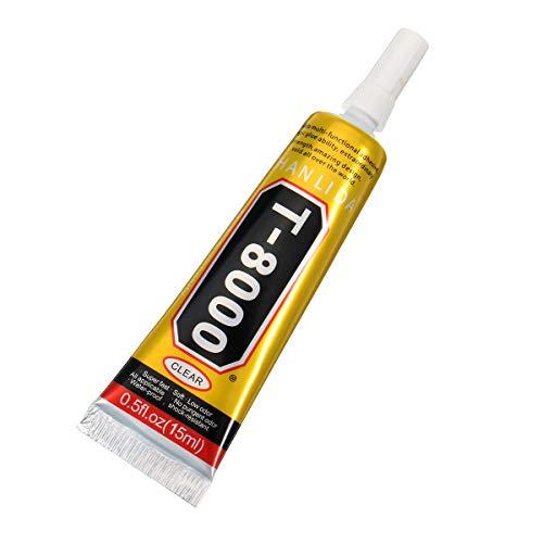 T-8000 15 ml Epoxidharz Mehrzweck-Kleber für Handy-Bildschirm, Reparatur, Flüssigkleber für DIY Craft T8000