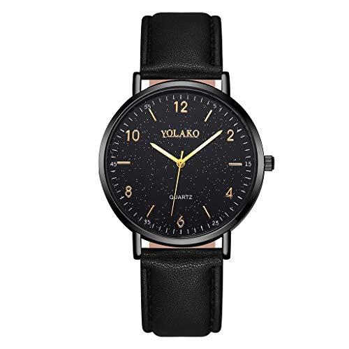 Posional Relojes para Mujer de Acero Inoxidable Impermeable Relojes de Pulsera Señoras...