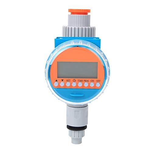 G1-1/4 DN32 Contrôleur d'irrigation Intelligent Automatique Intelligent Arrosage Minuterie LCD Affichage pour Intérieur/Extérieur Serre Plante Fleur Coutyards Balcons