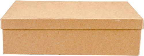 KunstAlternatieven Papier-Mache Rechthoek Box Set, Meerkleurig, 26,03 x 17,14 x 7,11 cm