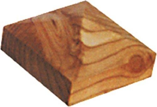 Gartenwelt Riegelsberger Capuchon de poteau en mélèze de qualité supérieure - Pyramide - 110 x 110 mm - Pour poteaux jusqu'à 9 x 9 cm - Fabriqué en Allemagne