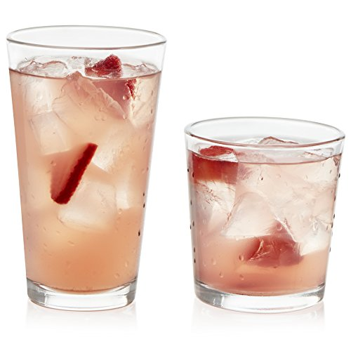Libbey Flare 16-Piece Tumbler an...