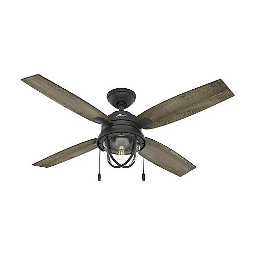 Barnes Bay 52 inch LED Indoor/Outdoor Natural Iron Ceiling Fan with Light Kit