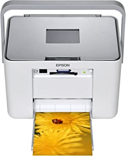 EPSON Colorio me コンパクトフォトプリンタ 3.6型TFTカラー液晶 高速赤外線通信標準搭載 Ice Silver E-530S