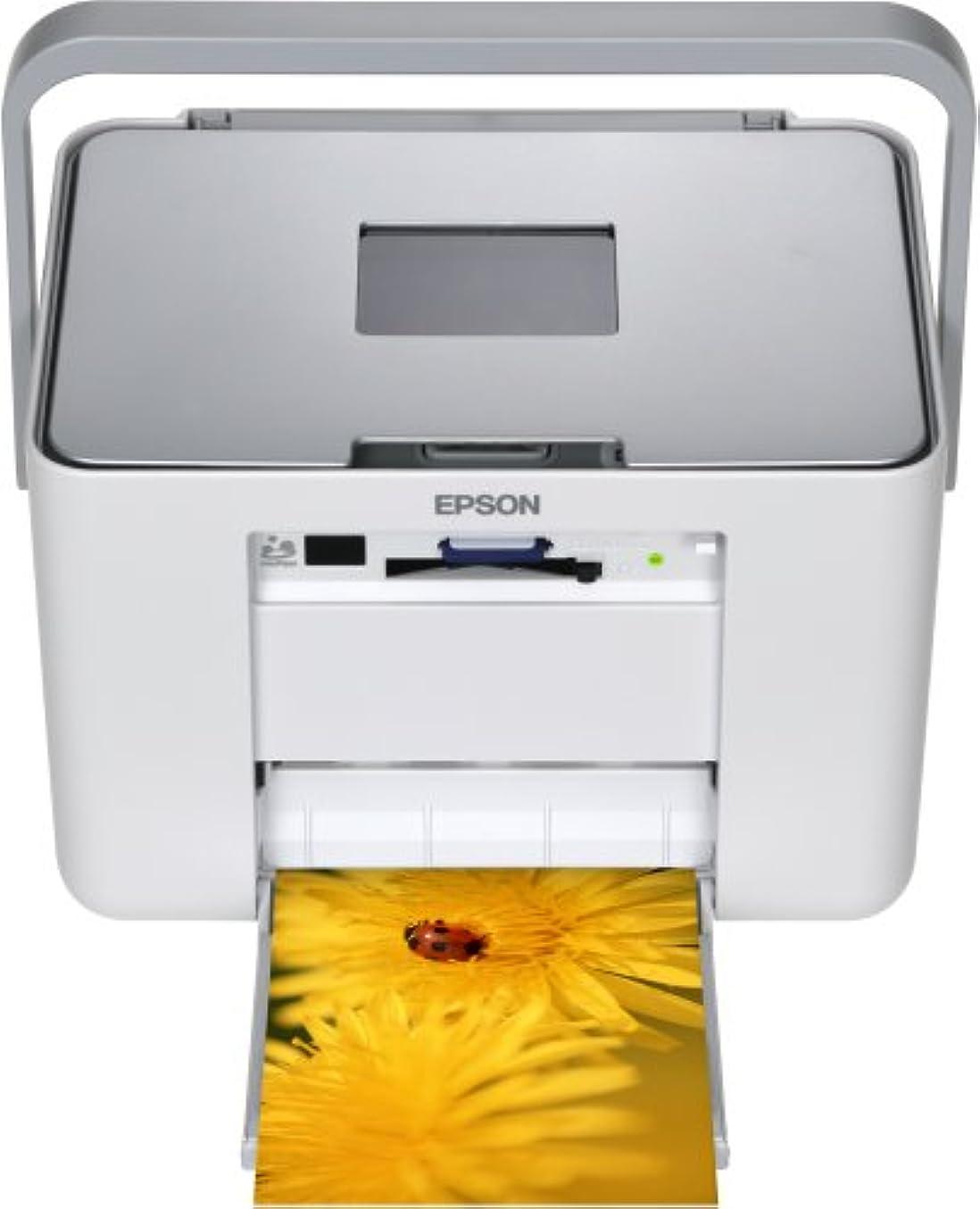 砂漠反対した包囲EPSON Colorio me コンパクトフォトプリンタ 3.6型TFTカラー液晶 高速赤外線通信標準搭載 Ice Silver E-530S
