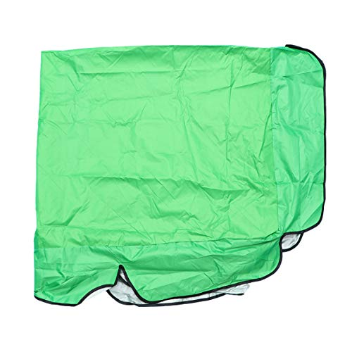 DOITOOL Patio Swing Chair Cover Cloth Furniture Cover Outdoor Waterproof Garden Chair Protector Dust Cover for Outdoor Garden Patio 142x120x18cm Green