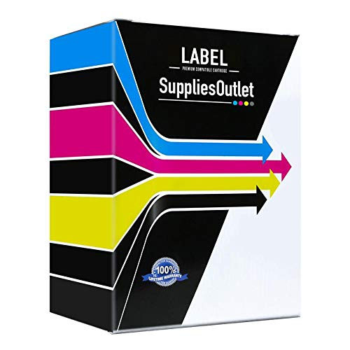 SuppliesOutlet Compatible Refill Roll Replacement for Panasonic KX-FA136 / KXFA136 (Black,2 Pack)