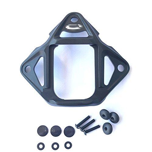 Worldshopping4U NVG Nachtsichtblende aus Metall (schwarz) für schnelle BJ PJ MH Maritime Helm für taktische Paintball Airsoft