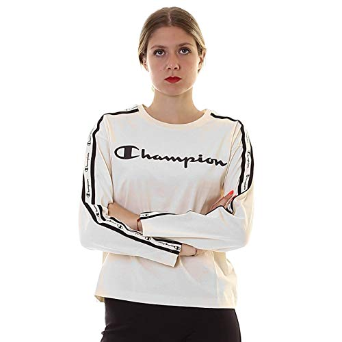 Champion Long Sleeve - Camiseta Bianco XL