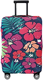 Periea Premium 3mm Elasticated Suitcase Luggage Cover - 38 Different Designs - Small, Medium or Large (Bold Flowers, Small)