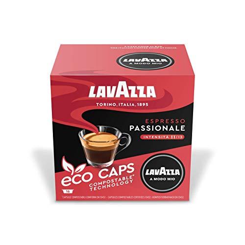 Lavazza A Modo Mio Passionale Coffee Capsules (3 Packs of 16)