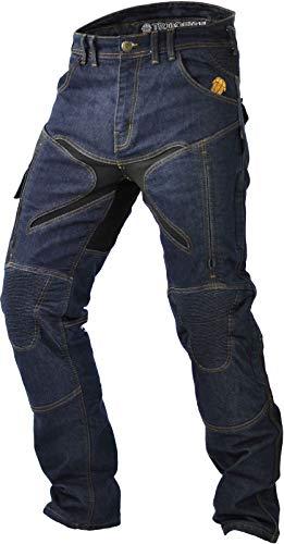 Trilobite Micas Urban pantalones vaqueros para motorista hombres en moderno Slim Fit