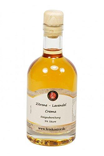 Zitrone - Lavendel Crema Essig 350ml