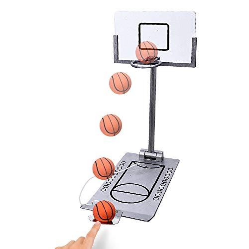 Purchase Lixada Mini Basketball Hoop Desk Ball Finger Basketball Rack Children Adult Foldable Palm B...