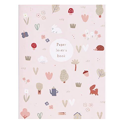 kikki.K Woodland Wanders Designer-Kollektion – Buch für Papierliebhaber, enthält Hunderte von Papierprojekten wie Aufkleber, Grußkarten, Papier-Wimpelkette, 3D-Objekte und mehr