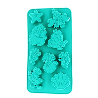 Disney The Little Mermaid Silicone Ice Cube Tray