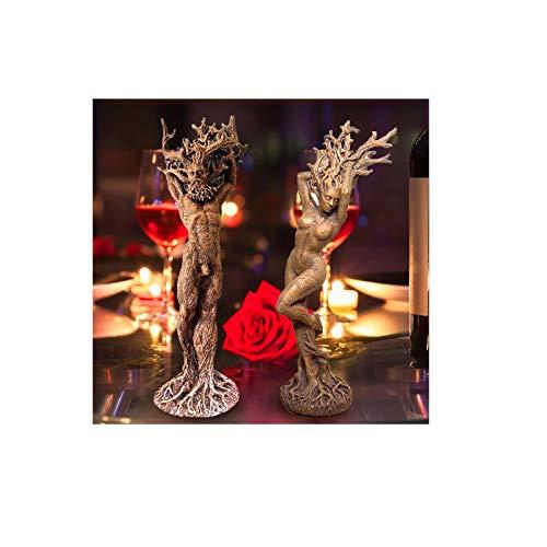 LUCKLY Figurines en Résine Dryad en Forme d'arbre pour...