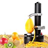 NIMIFOOL Kartoffelschäler Elektrisch Automatisches tragbares Multifunktionswerkzeug zum Schneiden von Obst und Gemüse wie Äpfeln und Kartoffeln
