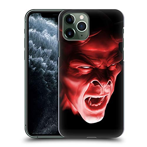 Head Case Designs Offizielle Tom Wood Shatten Dämon Horror Harte Rueckseiten Huelle kompatibel mit iPhone 11 Pro